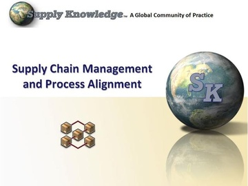 Supply Chain Management and Process Alignment