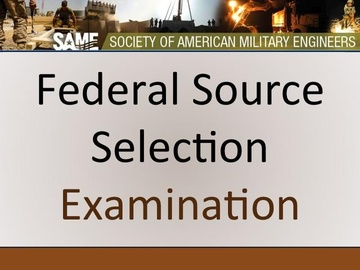 Federal Source Selection - Final Exam