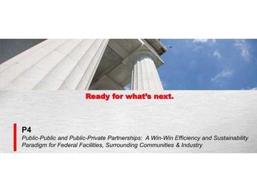 Public-Public and Public-Private Partnerships (P4)