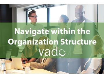 Navigate within the Organization Structure