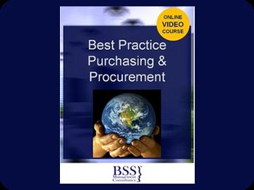Best Practice Procurement Training Course