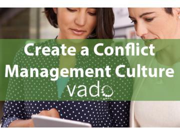 Create a Conflict Management Culture