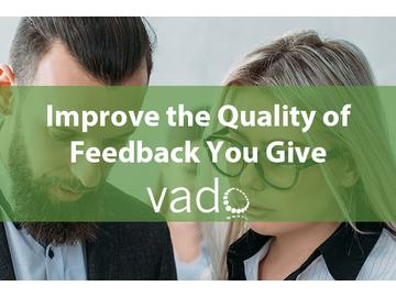 Improve the Quality of Feedback You Give