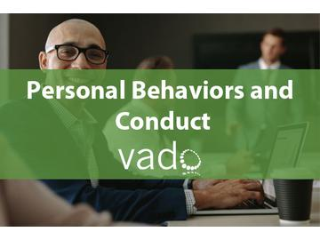 Personal Behaviors and Conduct