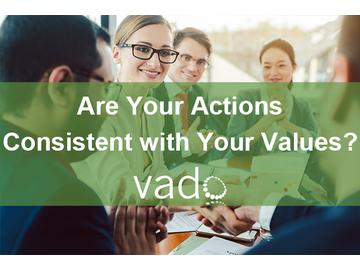 Are Your Actions Consistent with Your Values?