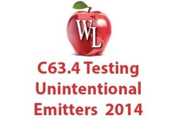 C63.4 Testing Unintentional Emitters 2014