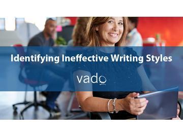Identifying Ineffective Writing Styles