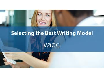 Selecting the Best Writing Model