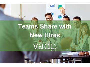 Teams Share with New Hires