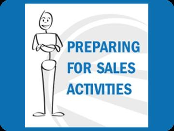 Preparing for Sales Activities