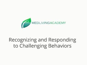 Recognizing and Responding To Challenging Behaviors- 2 Hours