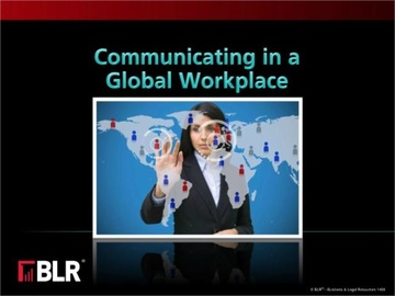 Communicating in a Global Workplace Course