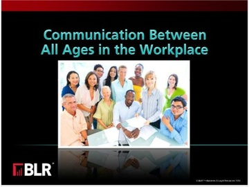 Communicating Between All Ages in the Workplace Course