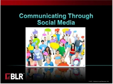Communicating Through Social Media Course