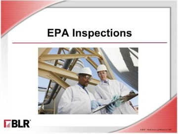 EPA Inspections Course
