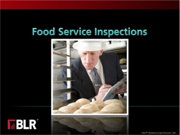 Food Service Inspections Course