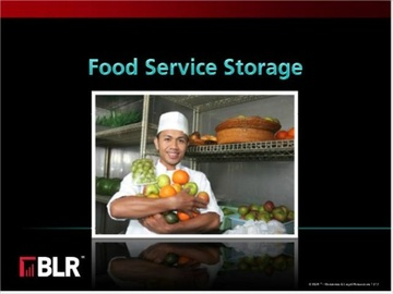 Food Service Storage Course