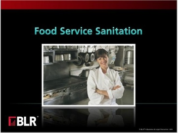 Food Service Sanitation Course