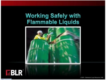 Working Safely with Flammable Liquids Course