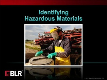 Identifying Hazardous Materials Course