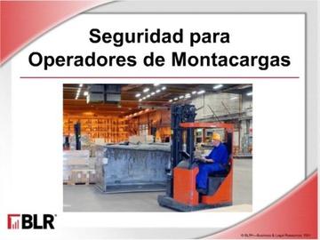 Seguridad Para Operadores De Montacargas HTML 5 (Forklift Operator Safety HTML 5)