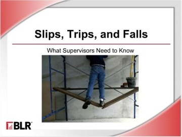 Slips, Trips, and Falls - What Supervisors Need to Know (HTML 5)