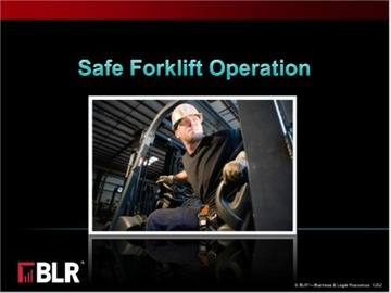 Safe Forklift Operation (HTML 5) Course