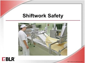Shiftwork Safety (HTML 5) Course