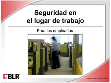 Seguridad En El Lugar De Trabajo - Empleados HTML 5 (Workplace Safety for Employees HTML 5) Course