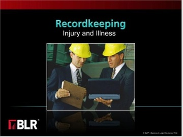 Recordkeeping - Injury and Illness (HTML 5) Course