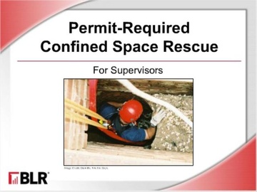 Permit Required Confined Space Rescue for Supervisors (HTML 5)