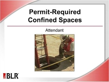 Permit Required Confined Spaces - Attendant (HTML 5) Course