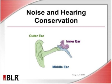 Noise and Hearing Conservation (HTML 5) Course