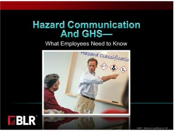 Hazard Communication and GHS - What Employees Need to Know (HTML 5) Course