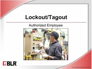Lockout/Tagout - Authorized Employee (HTML 5) Course