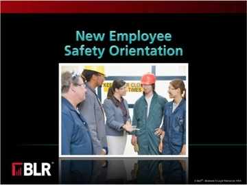 New Employee Safety Orientation (HTML 5) Course