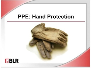 PPE - Hand Protection (HTML 5) Course