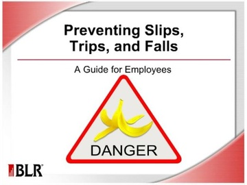 Preventing Slips, Trips, and Falls for Employees (HTML 5) Course
