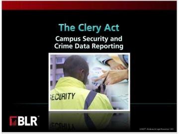 The Clery Act Campus Security & Crime Data (HTML 5)