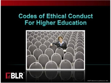 Codes of Ethical Conduct for Higher Education (HTML 5) Course