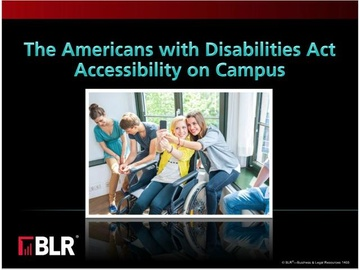 ADA Accessibility on Campus (HTML 5) Course