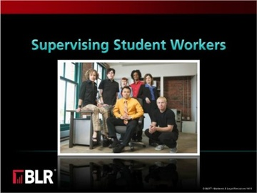 Supervising Student Workers (HTML 5) Course