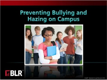 Preventing Bullying and Hazing on Campus (HTML 5) Course