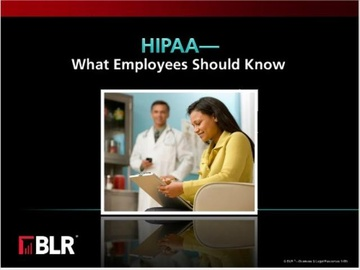 HIPAA - What Employees Should Know Course