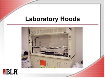 Laboratory Hoods Course