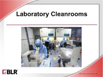 Laboratory Cleanrooms Course