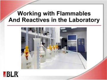 Working with Flammables and Reactives in the Laboratory Course