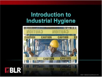 Introduction to Industrial Hygiene Course