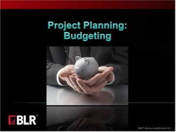 Project Planning: Budgeting