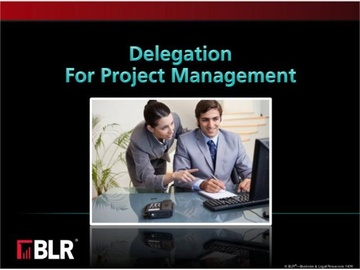 Delegation for Project Management Course